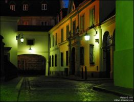 Old Town II by Wilithin