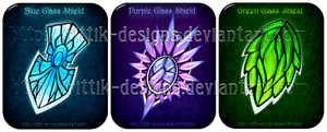 Glass Shields (CLOSED) by Rittik-Designs