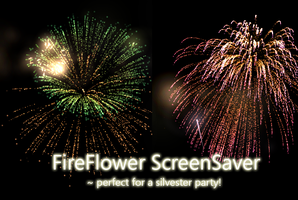 FireFlower screensaver by MaskedJudas