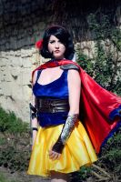 Snow White Warrior Cosplay - 06 by bulleblue