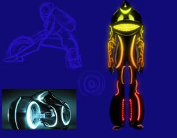 Light Cycle TF Concept by creepygoth666