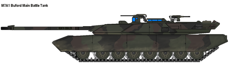 M7A1 Buford MBT by PaintFan08
