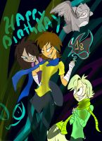 Happy birthday by margers
