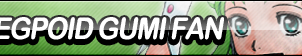 Megpoid Gumi Fan Button by ButtonsMaker