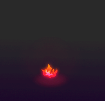 Animation Fire Heart by Criopixel