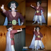Mr Hercule Satan Assembled by billybob884