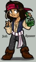 Thats Captain Jack Sparrow by Chibi-Goat