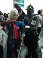 Sam fisher meets Nero from Devil May Cry 4 by W4RH0US3
