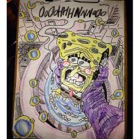 Spongebob Used As A Sponge To Clean  by ReRe93