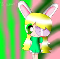 Gift~Daisy Bunny - PPG [Whit effects] by SpeedAtrsofPPG