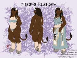Taeana Palehorn (Reference) by SilverWarden7