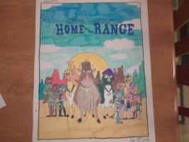 The Total Drama Gang Goes Home on the Range-Front by Jared1994