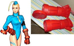 Cammy's Gloves Cosplay by AmethystArmor