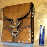 Leather Belt Pack by barlogg