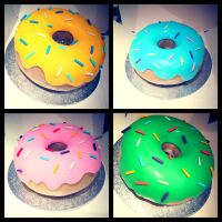 The Giant Donut Collection! by gertygetsgangster