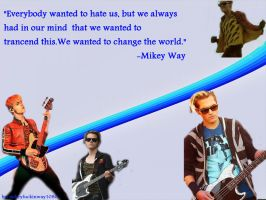 Mikey Way wallpaper by FromLoveToDeath