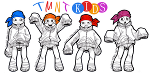TMNT KIDS by Captain--Ruffy