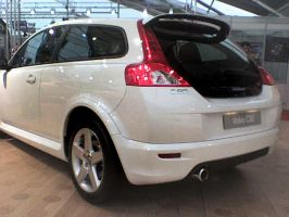 SIAB 07 - Volvo C30 Rear by AxelSilverwolf