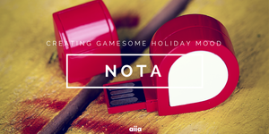 flash card NOTA - by aiia promo gifts by aiia-promo-products