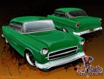 '55 210 Sedan by flying-polock