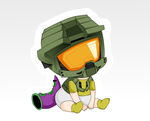 Baby Master Chief by ChibiAnnie
