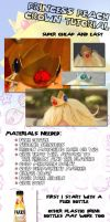 Princess Peach Crown Tutorial by FuzzyRedPants
