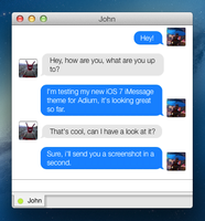 iOS 7 iMessage for Adium by SkyJohn