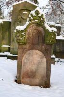 Winter tombstone stock 09 by Malleni-Stock