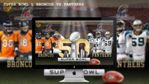 Super Bowl L Broncos Vs Panthers Wallpaper HD by BeAware8
