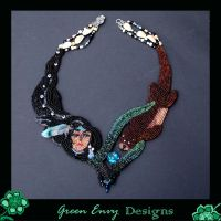 Spirit of the otter totum by green-envy-designs