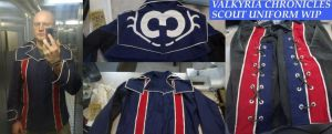Valkyria Chronicles Scout Uniform WIP by Scarlet-Impaler