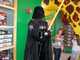 Lego Vader by munkisan