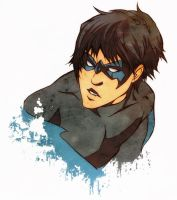Nightwing blubb by XMenouX