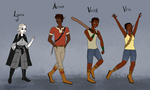 The Way Out: Main Characters by rainewhisper