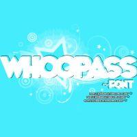 Whoopass Font by PlastiickBoy