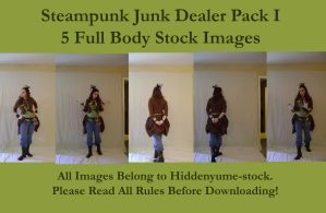 Steampunk Junk Dealer I by HiddenYume-stock