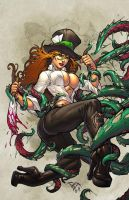 Grimm Fairy Tales Madness of Wonderland 3 cover by spidermanfan2099