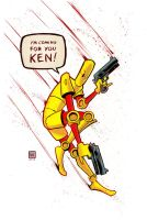 Scud: The Disposable Assassin Commission by MatthewWarlick