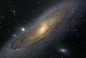 M31-Great Nebula In Andromeda by Keith139