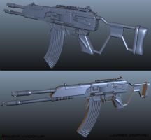 WIP - REALISTIC VLADOF ASSAULT RIFLE by CougarJo