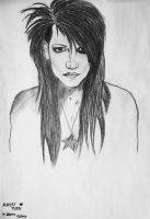 Ashley Purdy from Black Veil Brides by KatarinaAutumn