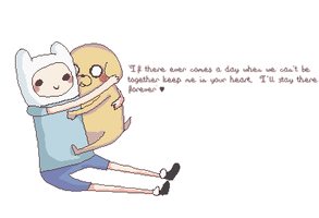 Finn and jake by Chocozombi