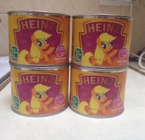 Heinz: MLP Apple Jack by extraphotos
