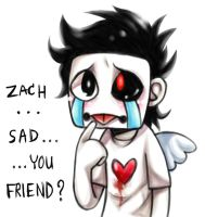 Zach...Sad... by ATragicWolf