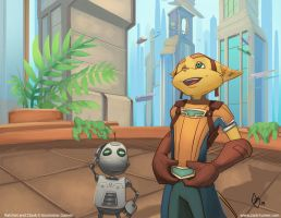 Ratchet and Clank Future - Awe by ZackRI