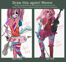Draw this again II 2006-2014 by SharpPaperEdges