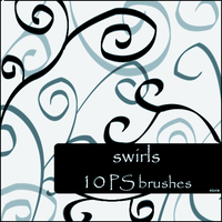 swirls brushes by szuia