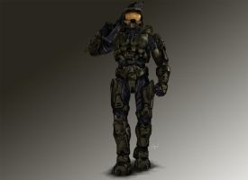 Master Chief by Bushido4