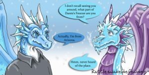Ice Dragons by DragonCid