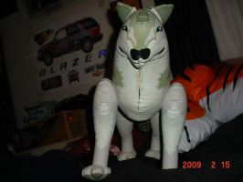 inflatable wolfy by hotrodwolf